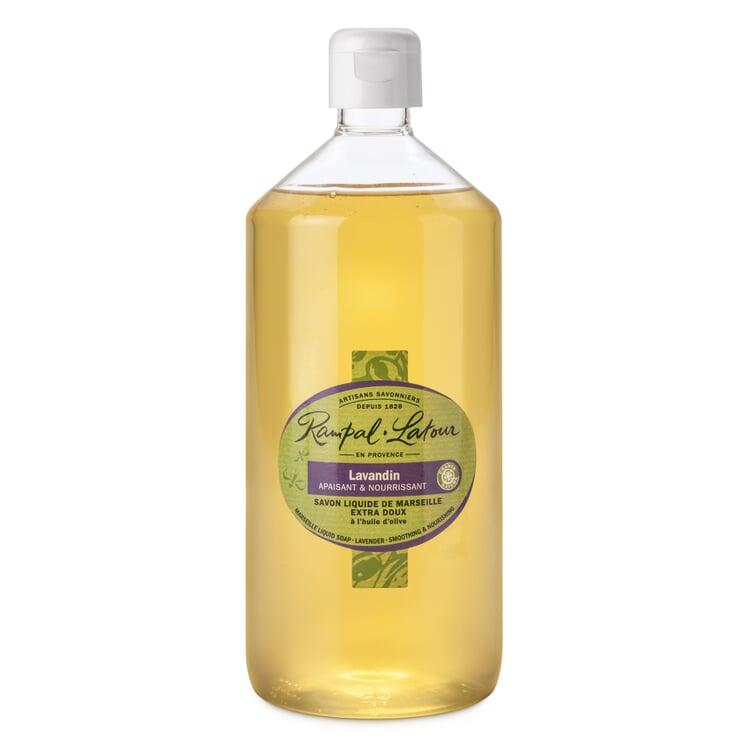 Liquid Marseilles Soap Lavender 1-l. plastic bottle