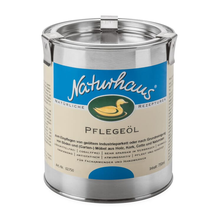 Naturhaus Restoring Oil for Timber, 750 ml metal can