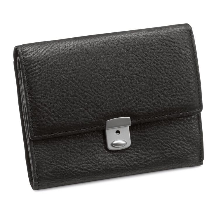 Cowhide purse, Black