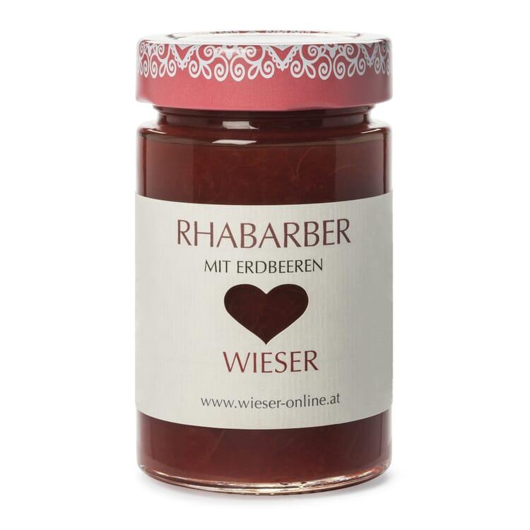 Wieser Rhabarber-Fruchtaufstrich