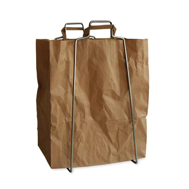 """Steel Frame for Paper and Plastic Bags """"Every Day"""""""