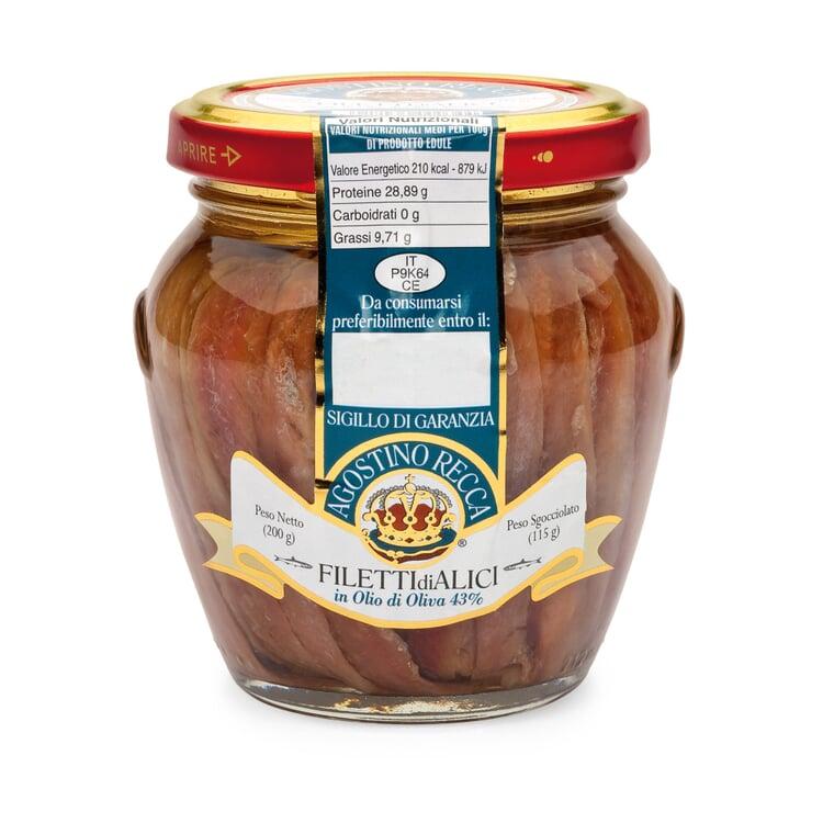 Sardellenfilets in Olivenöl