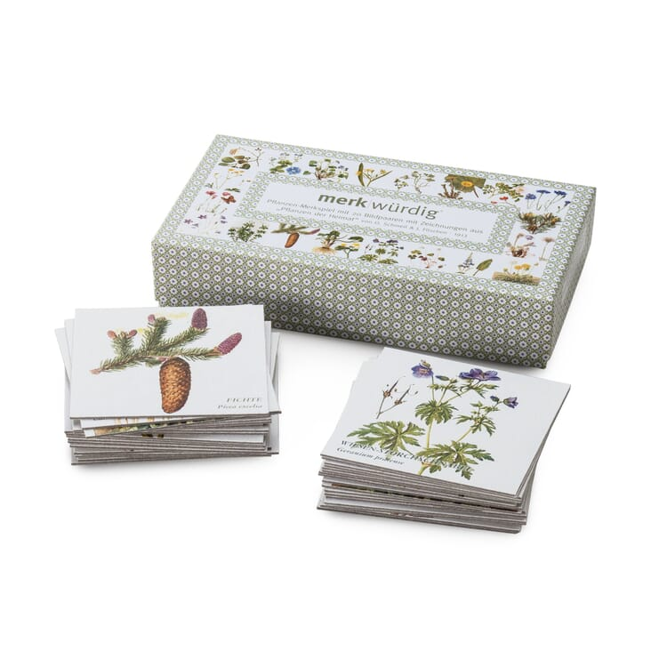 Memory Game Meadow Plants