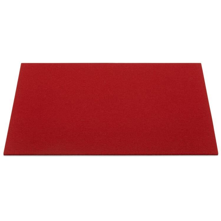 Tisch-Set Filz, Rot