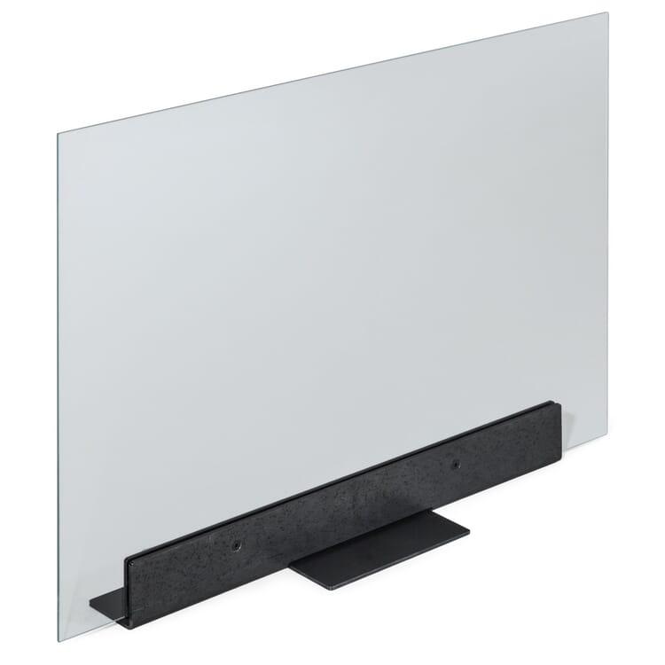 Funkenschutz Glas und Stahl