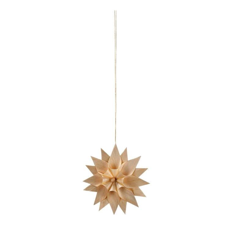 Wood Shaving Star, Small, double