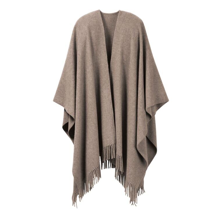 Lamb's Wool Poncho