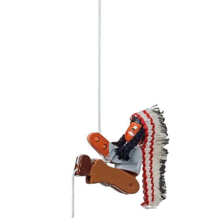 Kletterfigur, Indianer