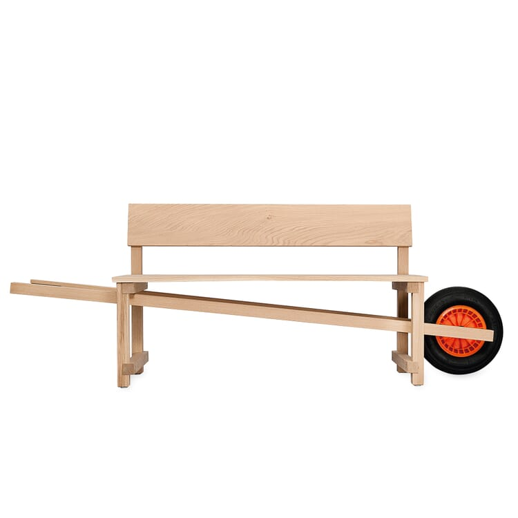 Bench with a Wheel