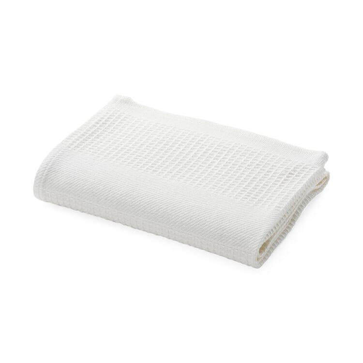Half Linen Piqué Weave Hand Towel