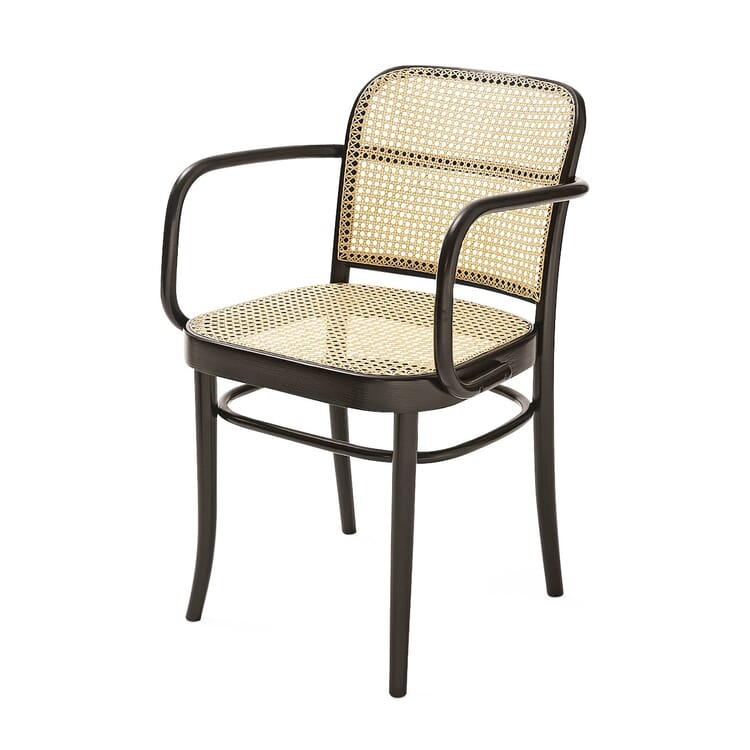 Ton Bentwood Armchair, Dark stained with clear lacquer