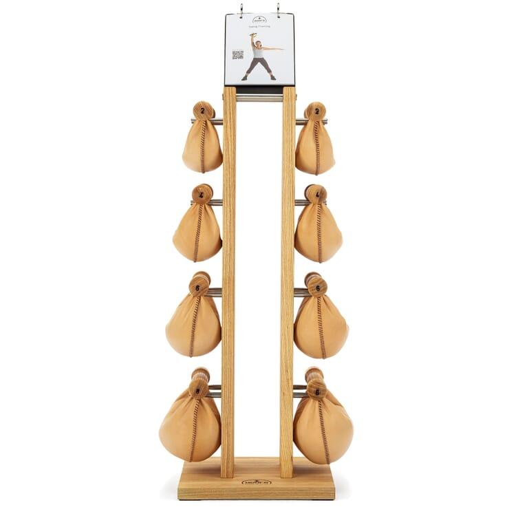 Nohrd Hantelturm Holz, Eschenholz