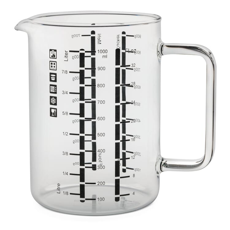 Messbecher Borosilikatglas