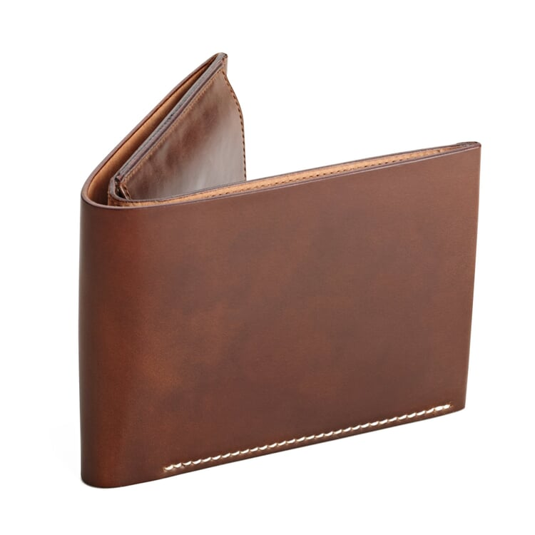 Cordovan Men's Wallet with Coin Purse