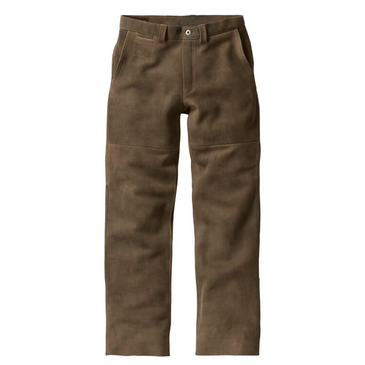 Hack Chamois Tanned Buckskin Pants, Olive