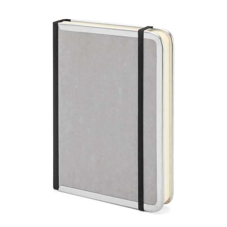 Metal-Edged Notebook B6