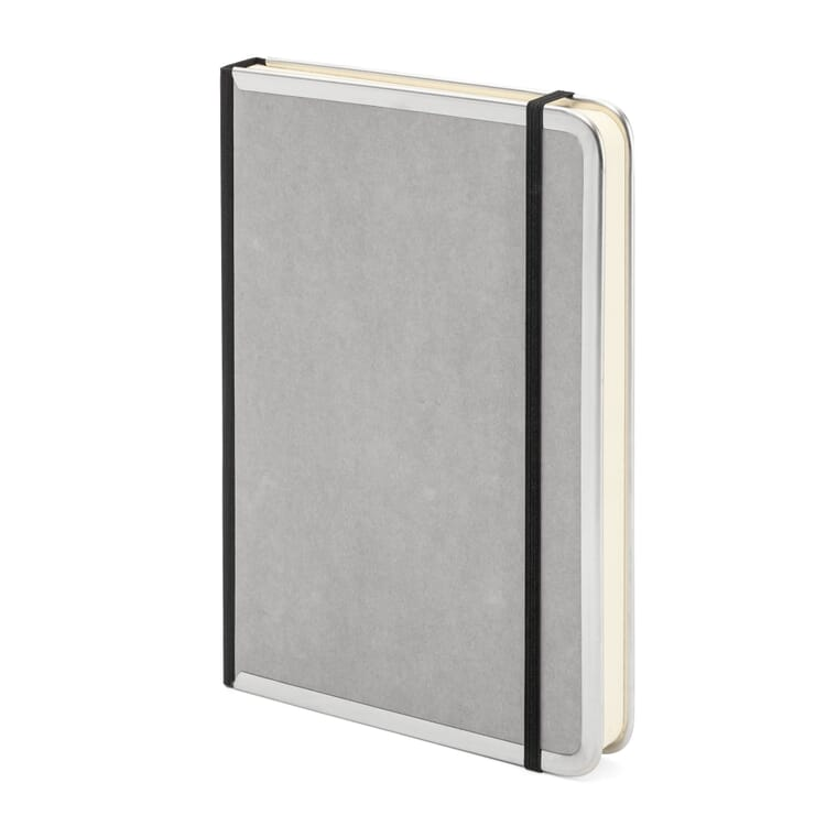 Notizbuch Metallkante A5, Blanko