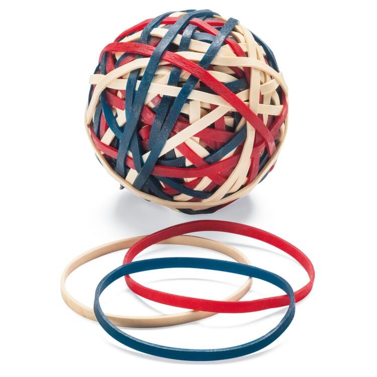 Gummiringe-Ball