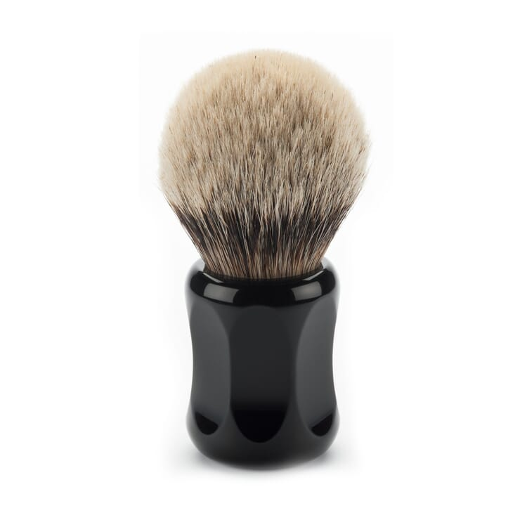 Shaving brush, badger hair, Large