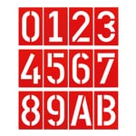 Industrial House Number by Spiekermann Pure Red RAL 3028 0