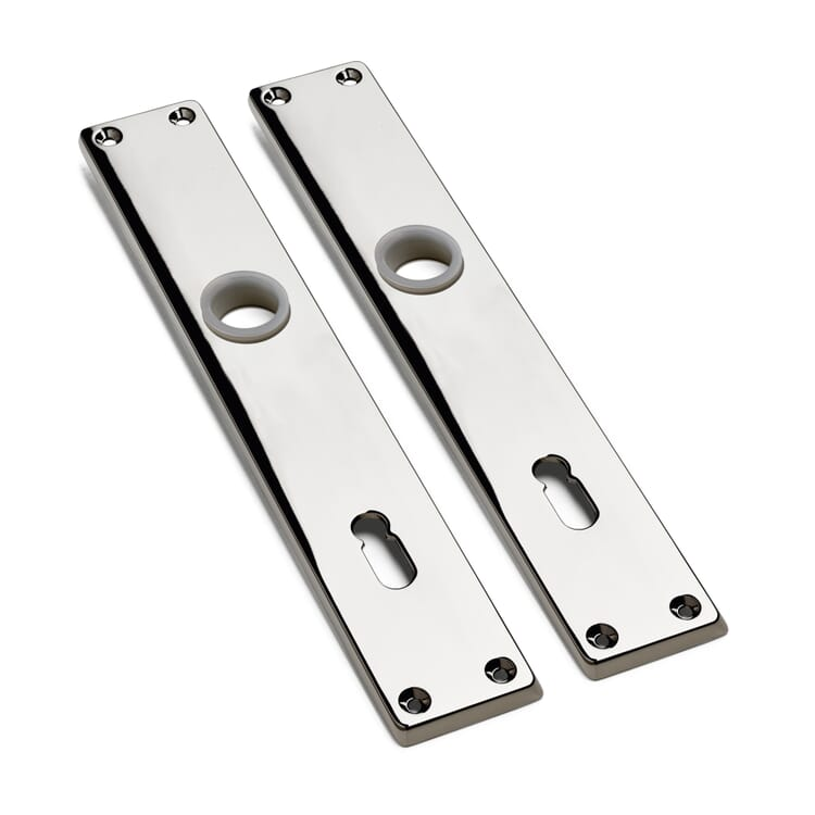 2 Die-Cast Zinc Backplates
