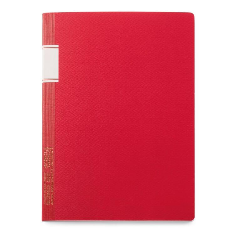 Japanisches Notizheft, Rot