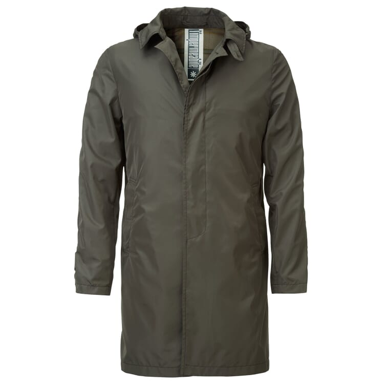 Men's Rain Coat Made of Recycled Polyester