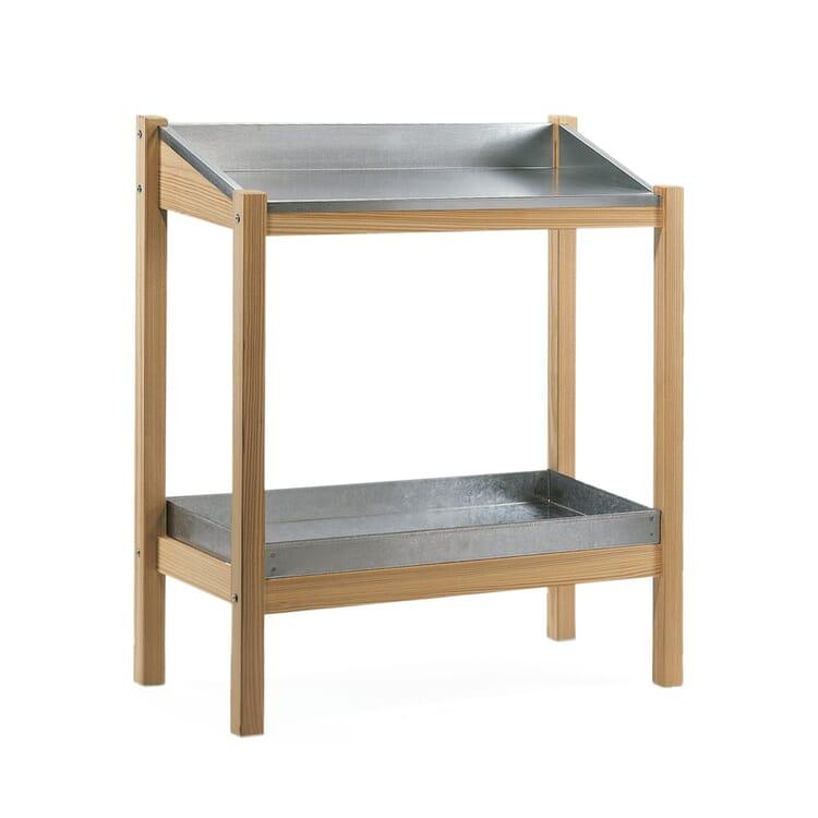 Manufactum Larch-Wood Gardener's Table