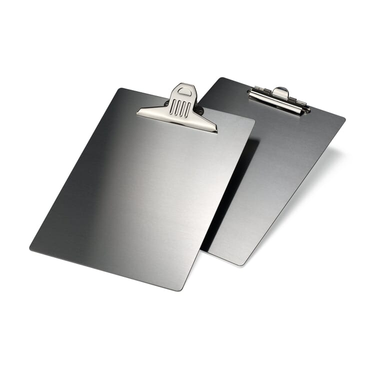 Stainless Steel A4 Clipboard, Small