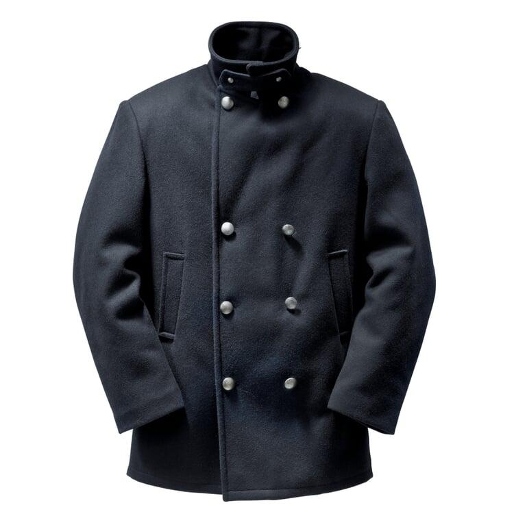 Bretonische Kaban-Jacke Herren Marineblau