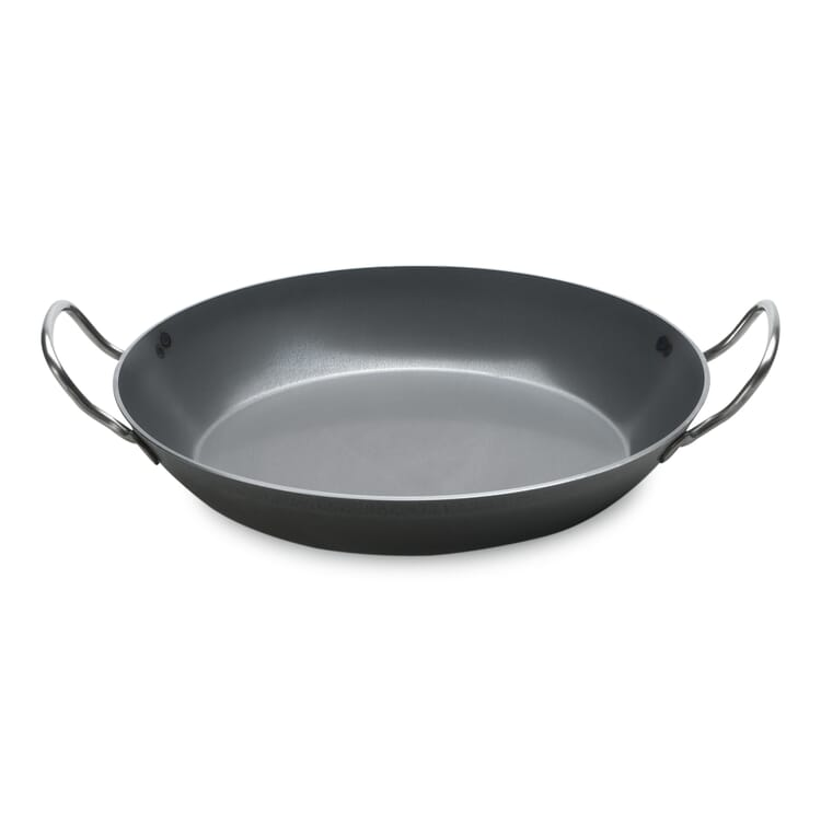 Iron Pan with Handles, Bottom Ø 24 cm