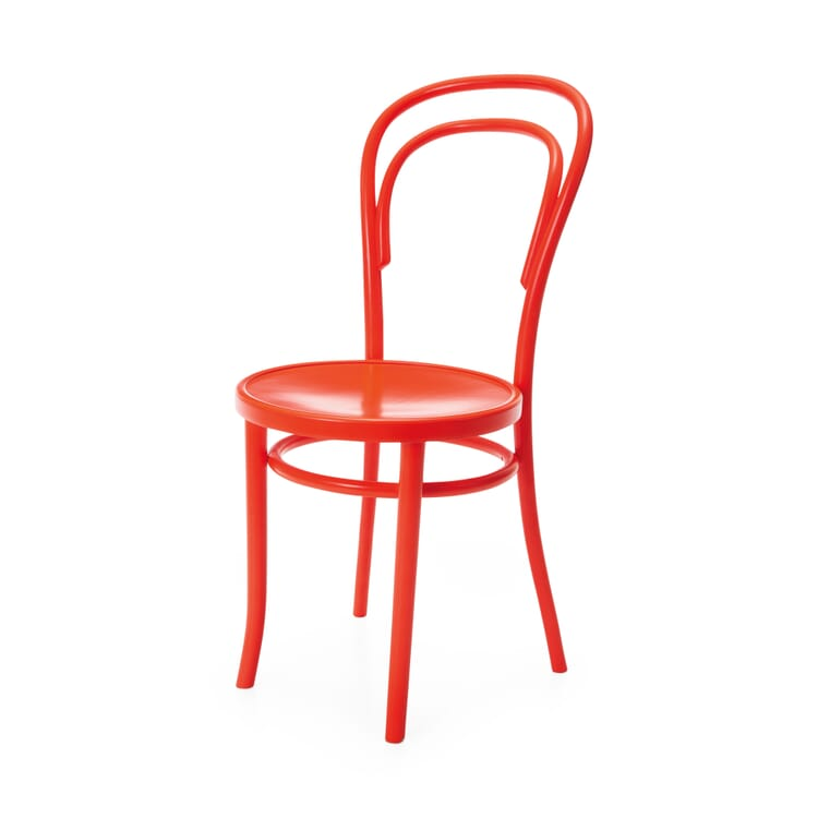 Chair A-14, Luminous Bright Red RAL 3026