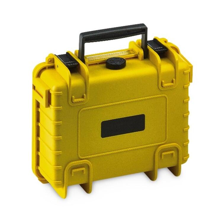 Koffer Robust Klein Gelb