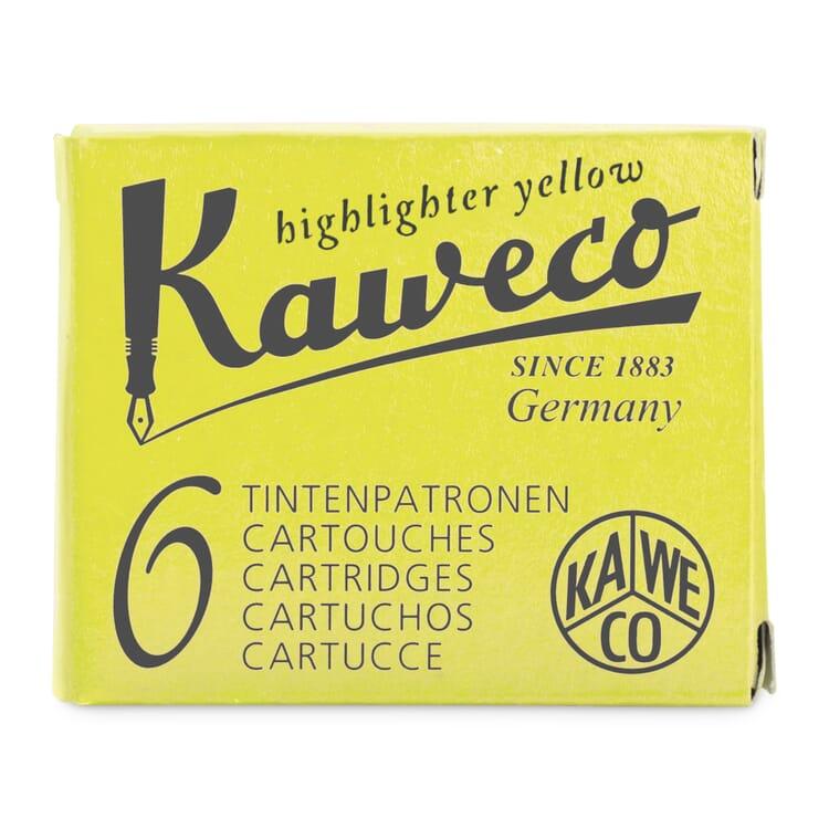 Tintenpatronen zu Marker Kaweco Neongelb