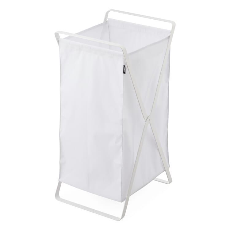 Laundry Basket Tower, White