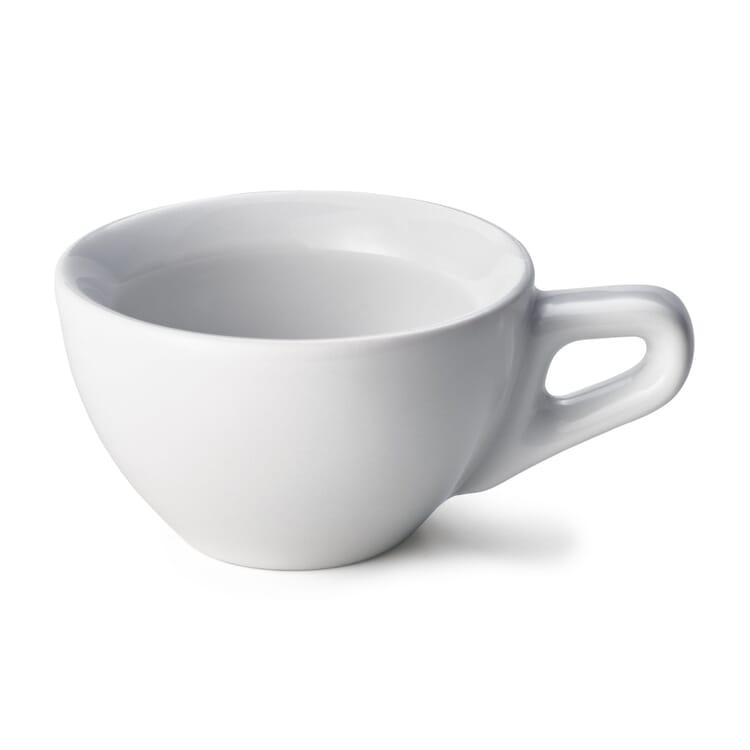 Espressotasse, Flach
