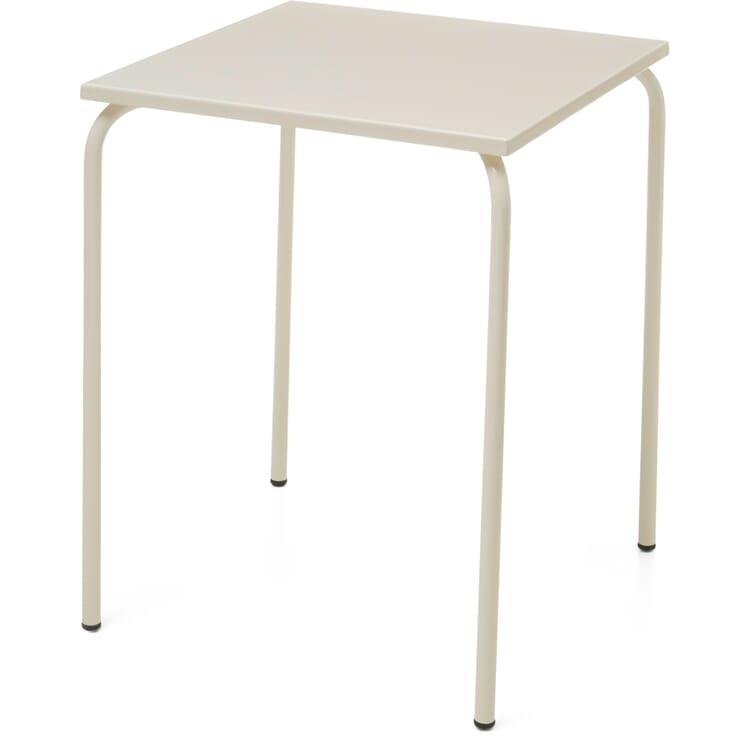 Table Estoril, Pearl White RAL 1013