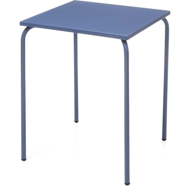 Table Estoril, Pigeon Blue RAL 5014