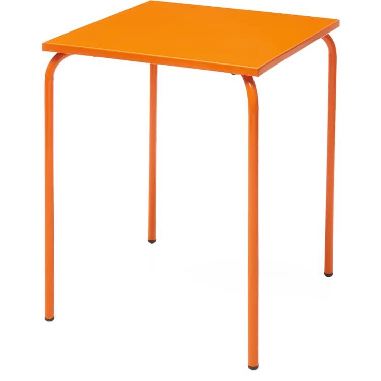 Table Estoril, Pure Orange RAL 2004