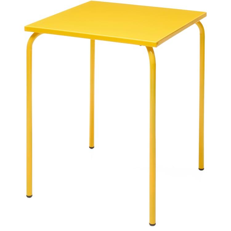 Table Estoril, Traffic Yellow RAL 1023