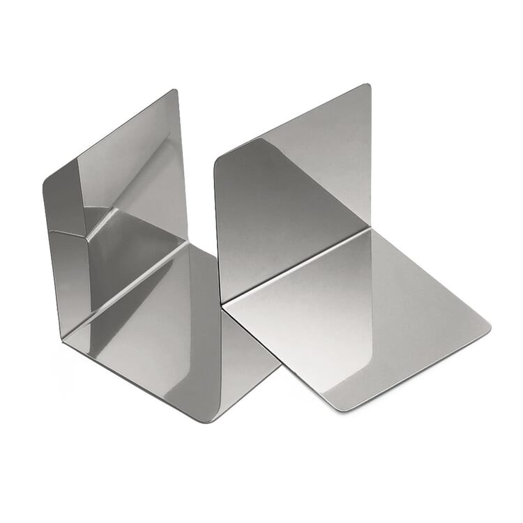Bookends Made of Stainless Steel