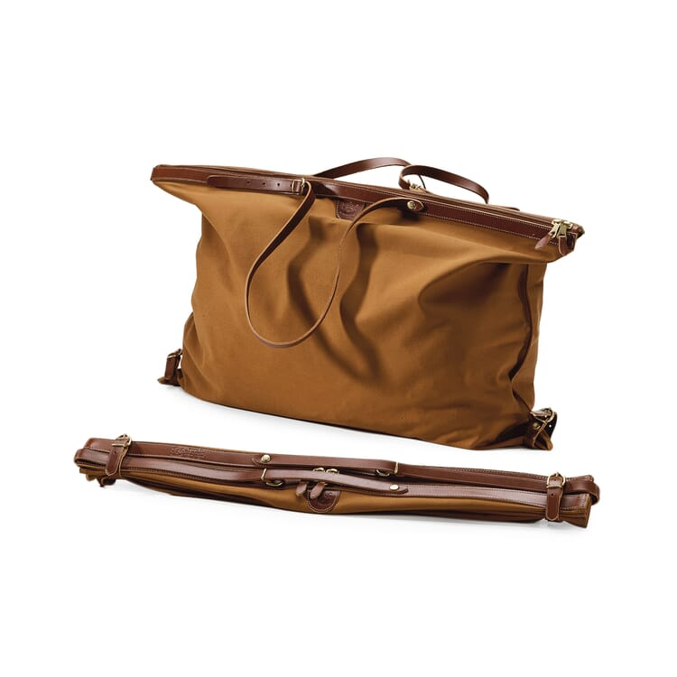 Folding Linen Travel Bag
