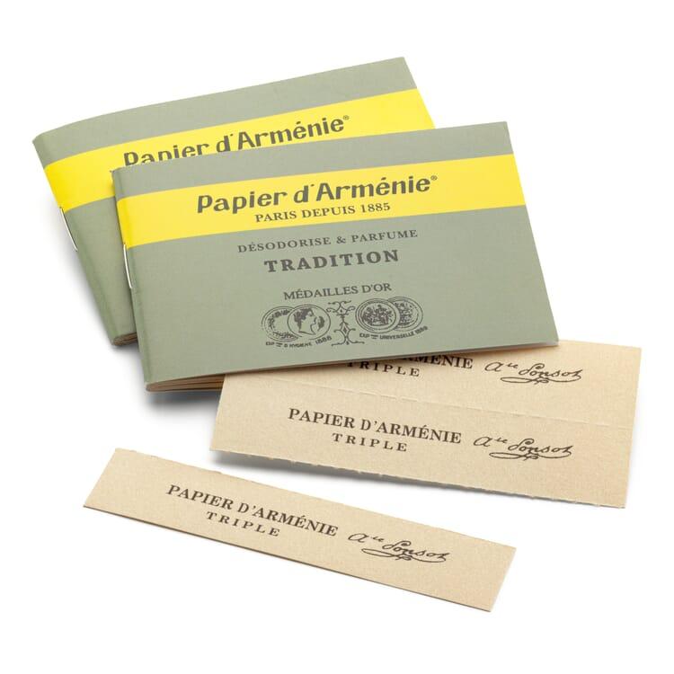 Papier d'Arménie triple