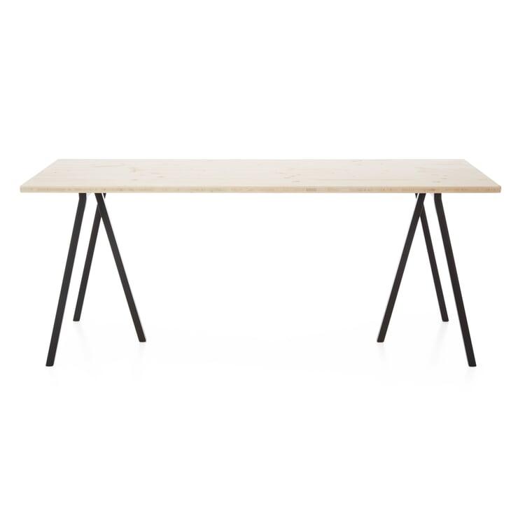 Tischplatte Uni Natur, unlasiert