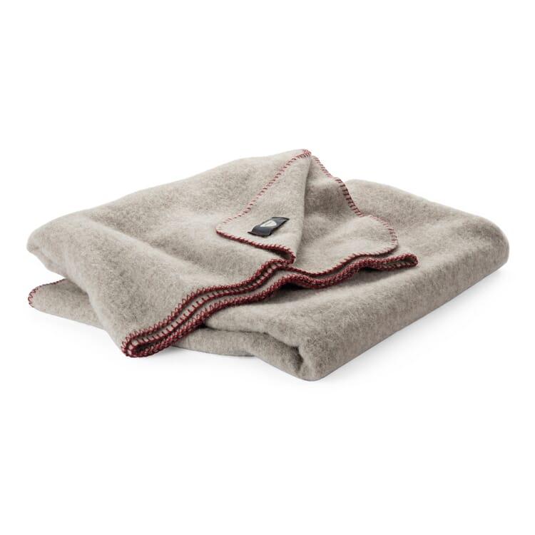 Woollen Blanket Eiger, Undyed