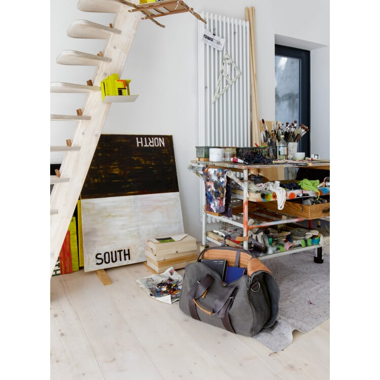 Tasche Weekender Grau