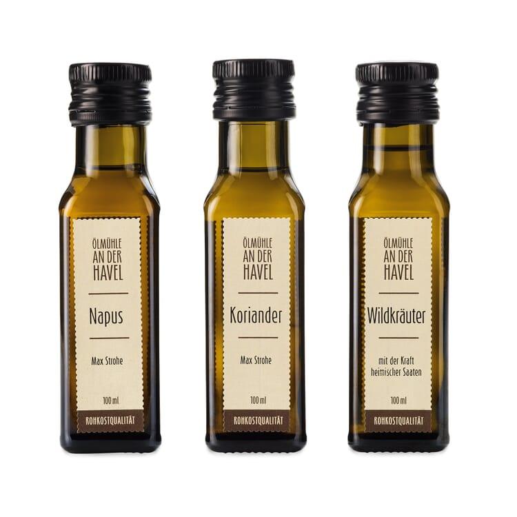 Bio-Ölset Napus, Wildkräuter, Koriander