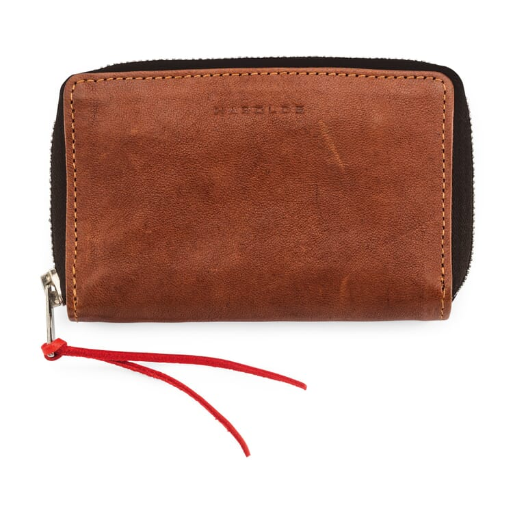 Purse Supercourse, Light Brown and Red