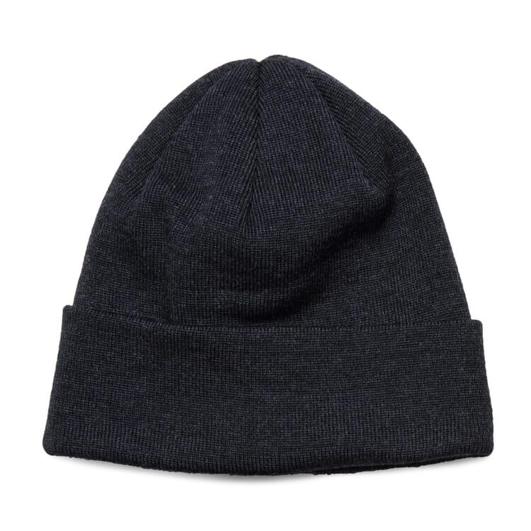 """Fine-Ribbed Knit Hat """"Baret"""""""