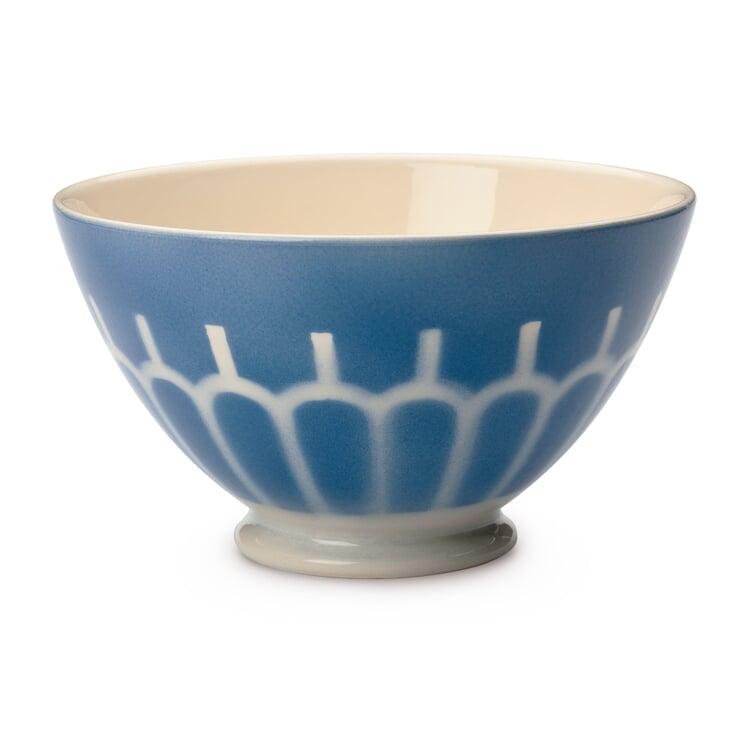 Ceramic Latte Bowl Large Arch/Blue